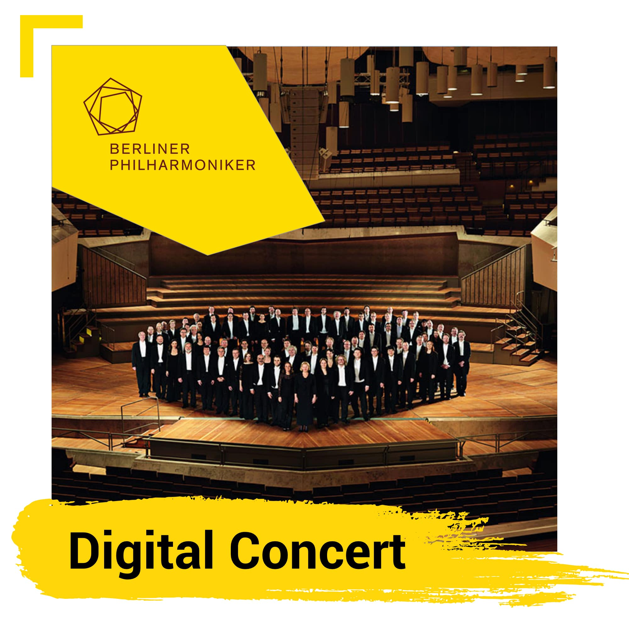 Digital Concerts from Berlin Philarmonic