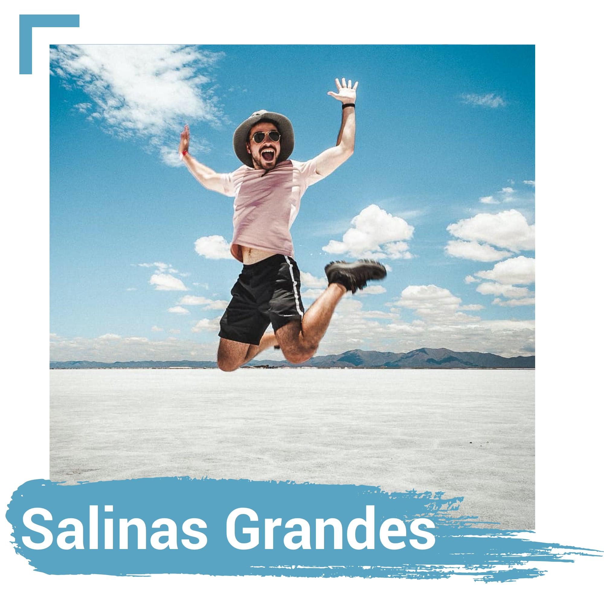 Salinas Grandes in Jujuy