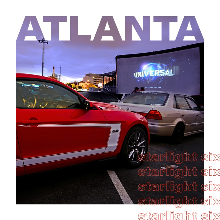 The Starlight Six Drive-In in Atlanta