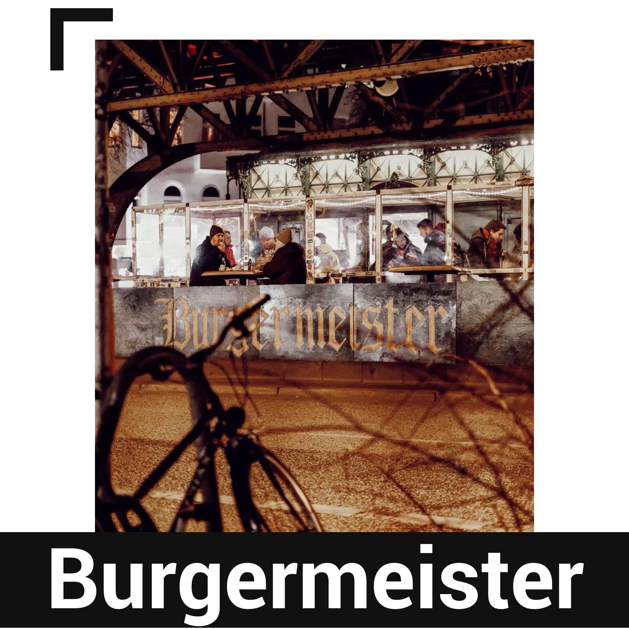 Berlin'deki Burgermeister