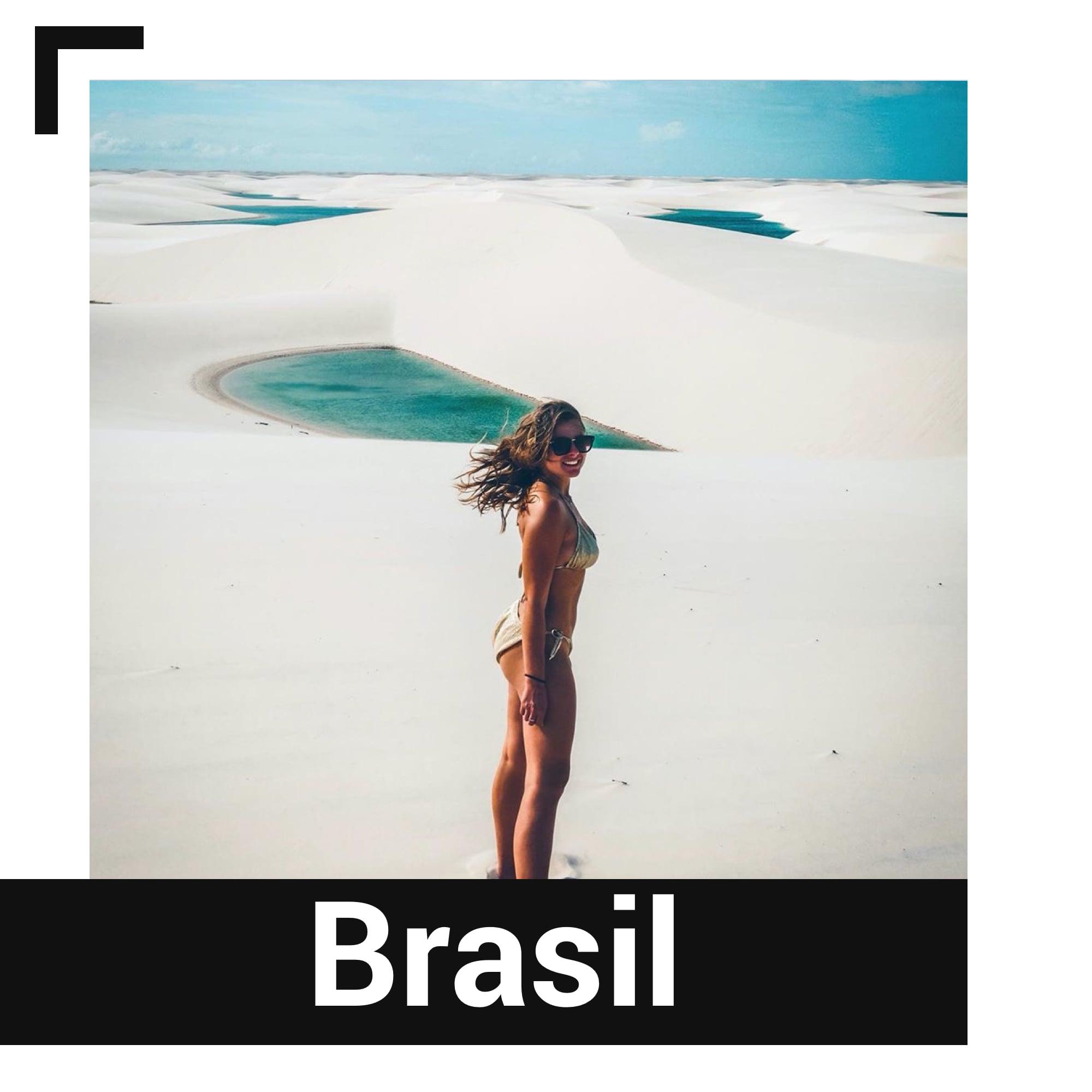 Brezilya'daki Lençois Maranhenses