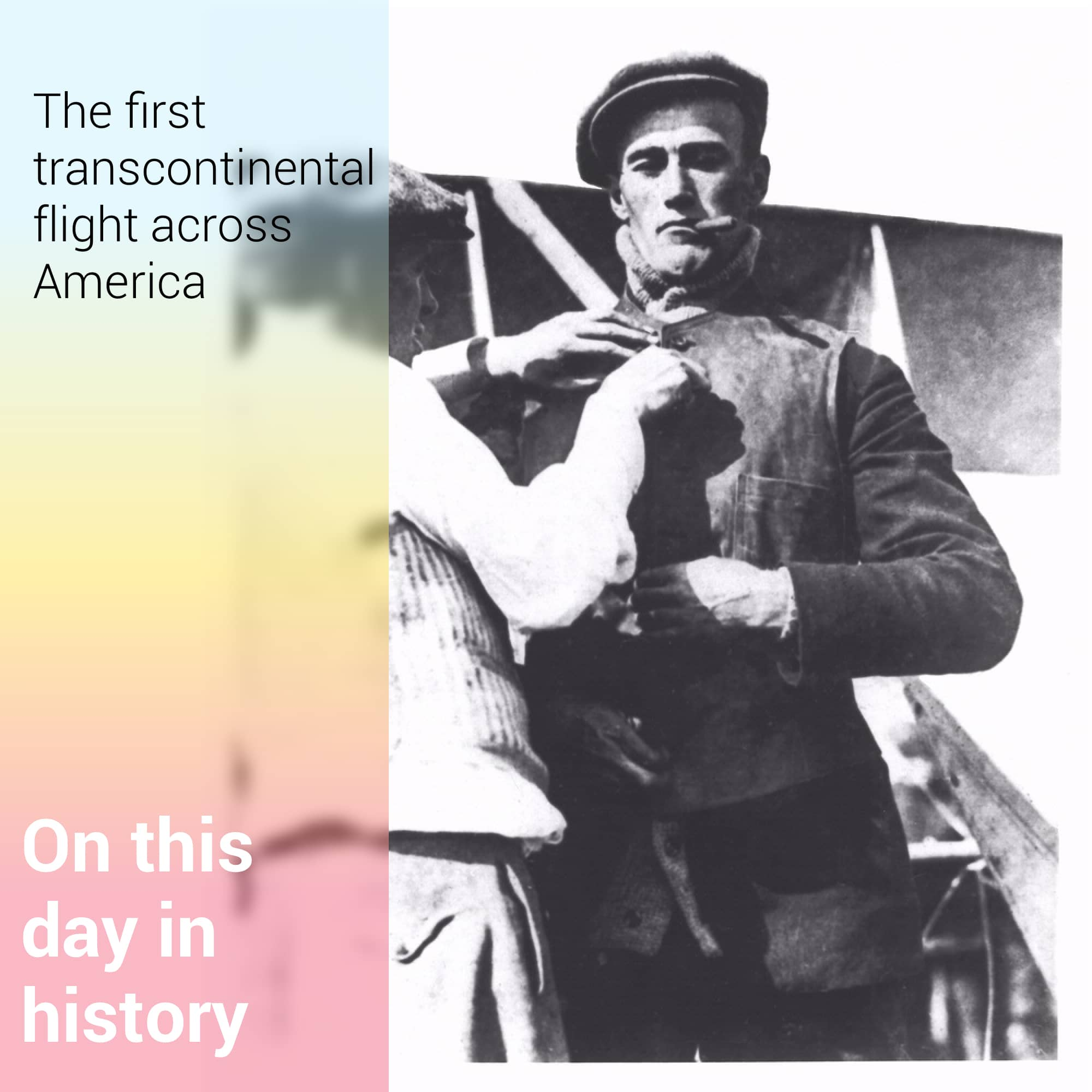 The First Transcontinental Flight
