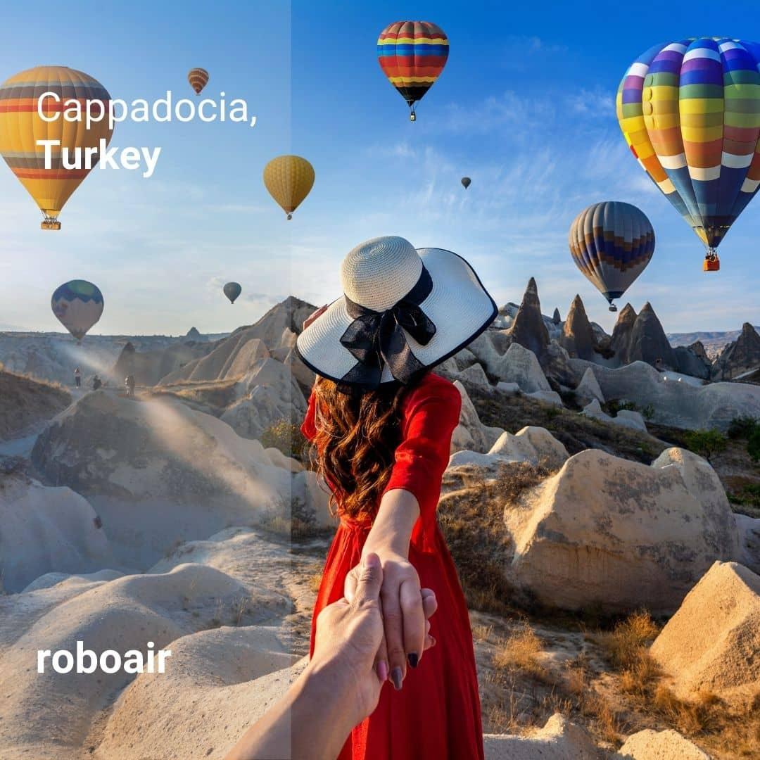 Kapadokya'nın Sıcak Hava Balonları