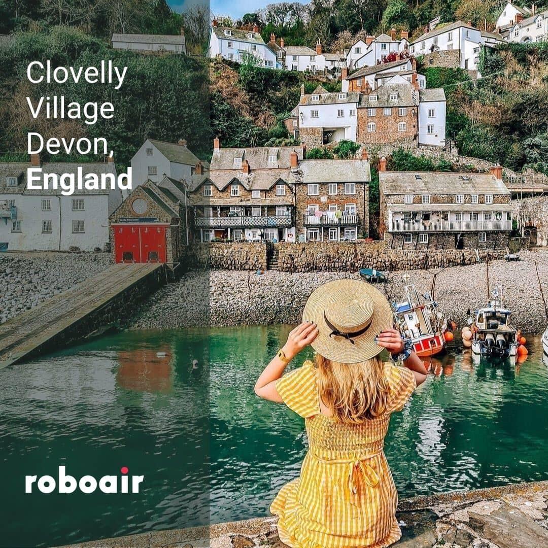 Clovelly Village, Devon