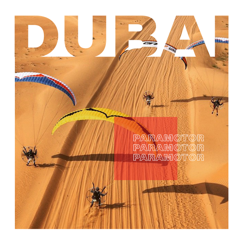 Paramotoring in Dubai