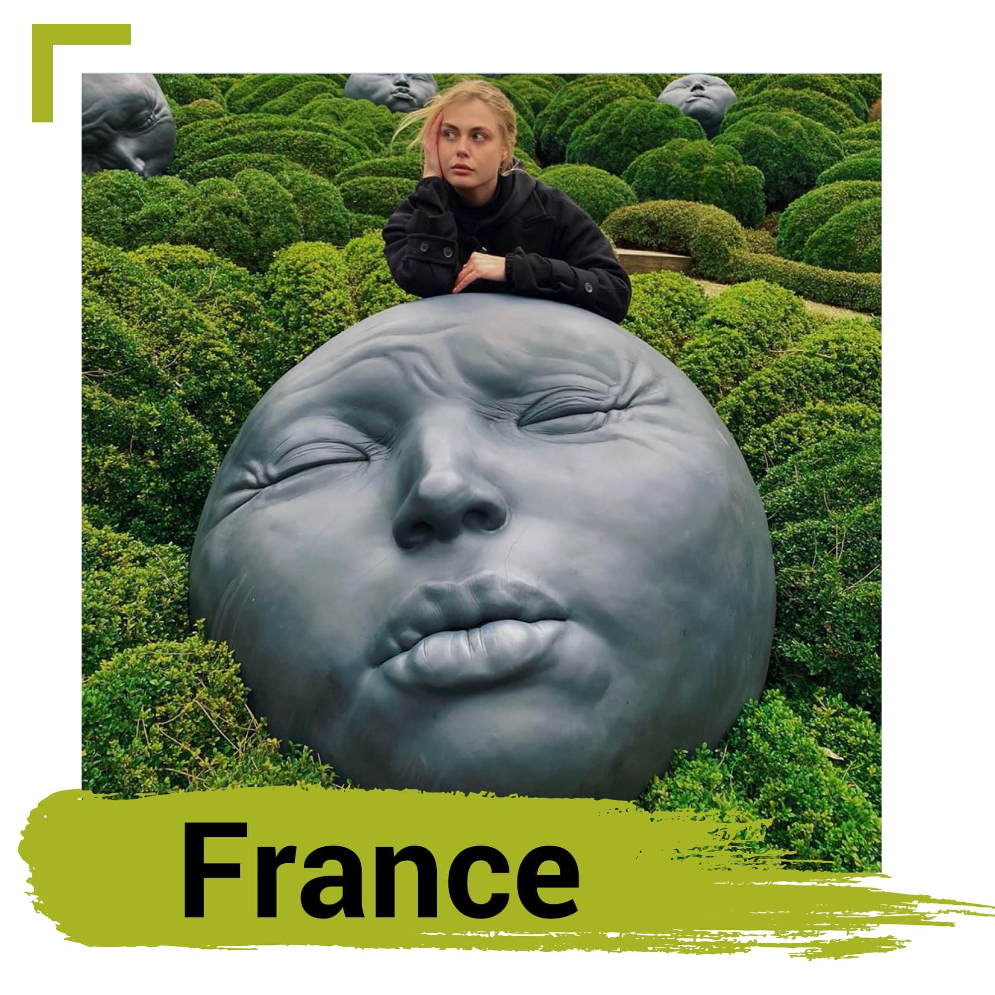 Les Jardines D'Etretat in France