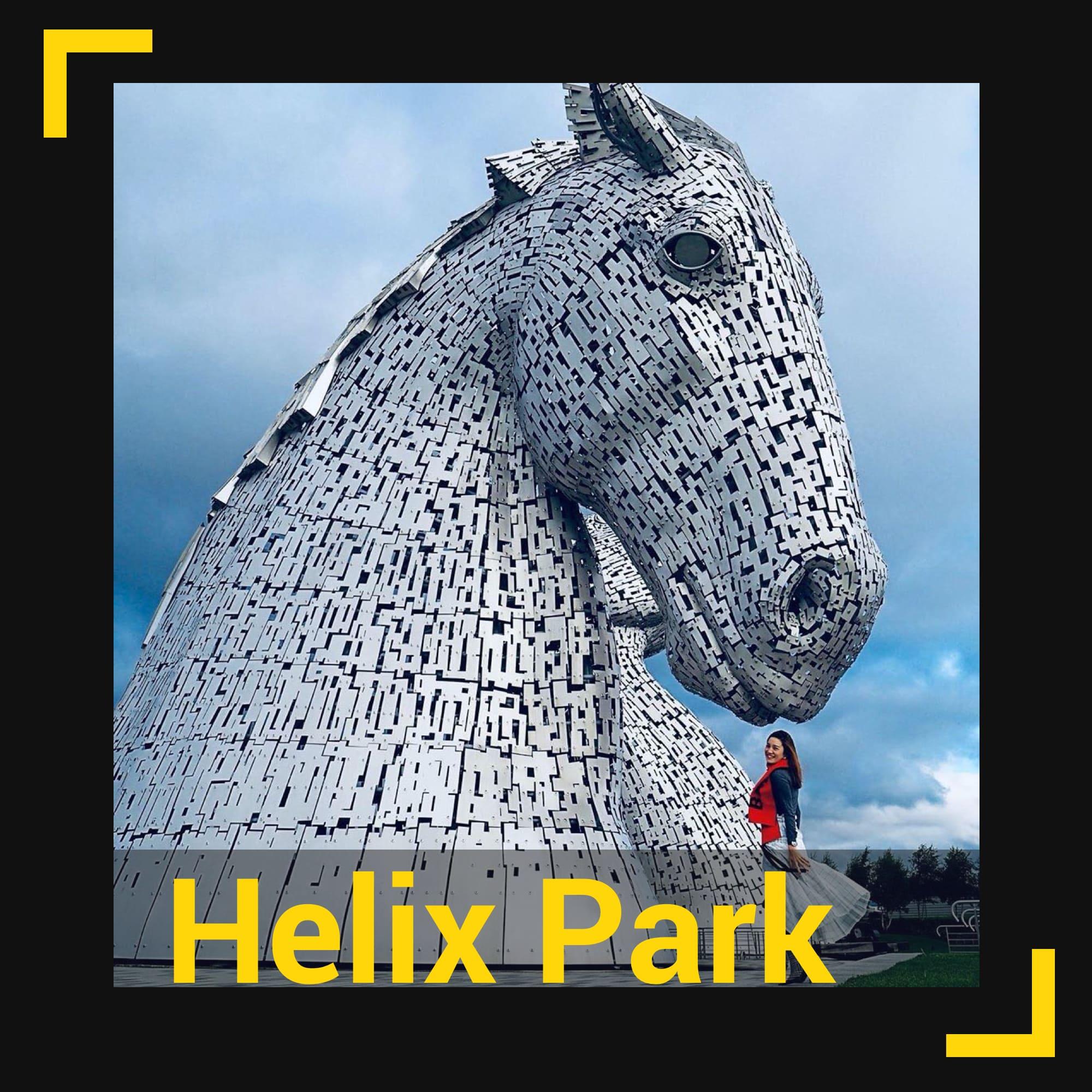 Glasgow'daki Helix Park