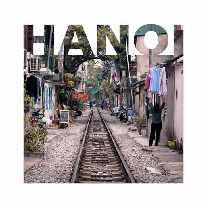 Hanoi'deki Train Street