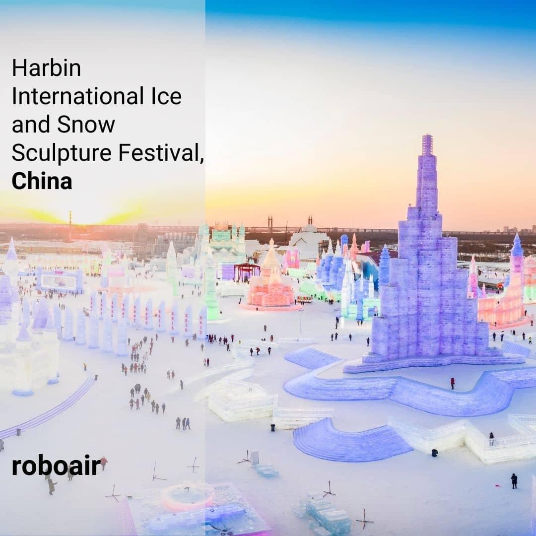 Harbin Uluslararası Kar ve Buz Heykel Festivali, Çin