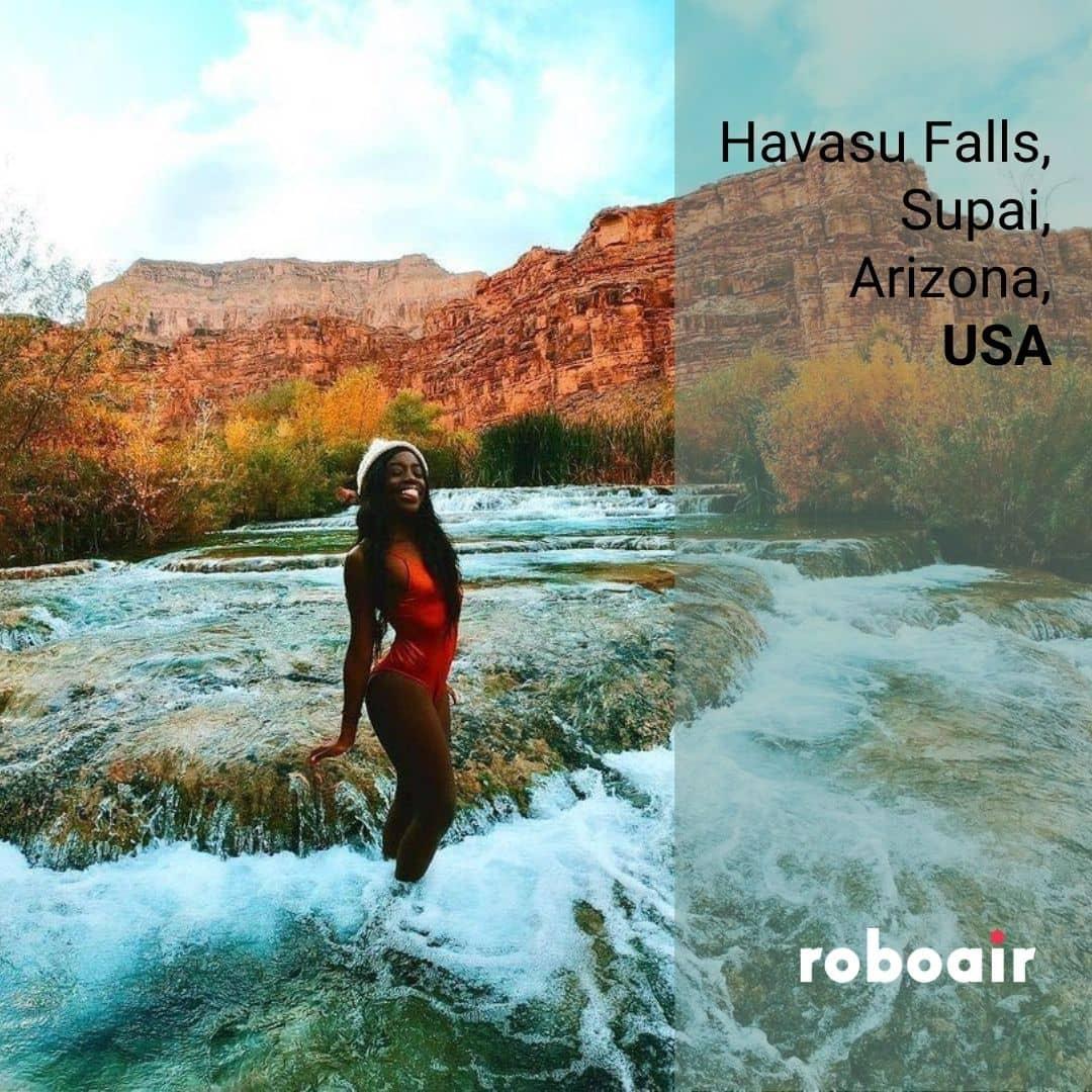Havasu Falls, Supai