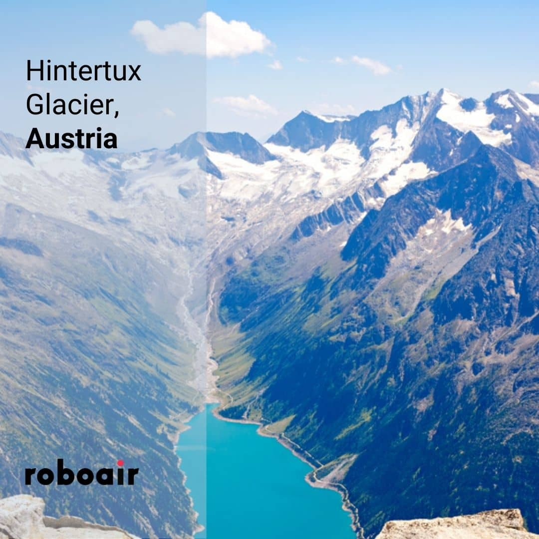 Hintertux Buzulu, Avusturya