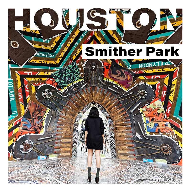 Smither Park in Houston