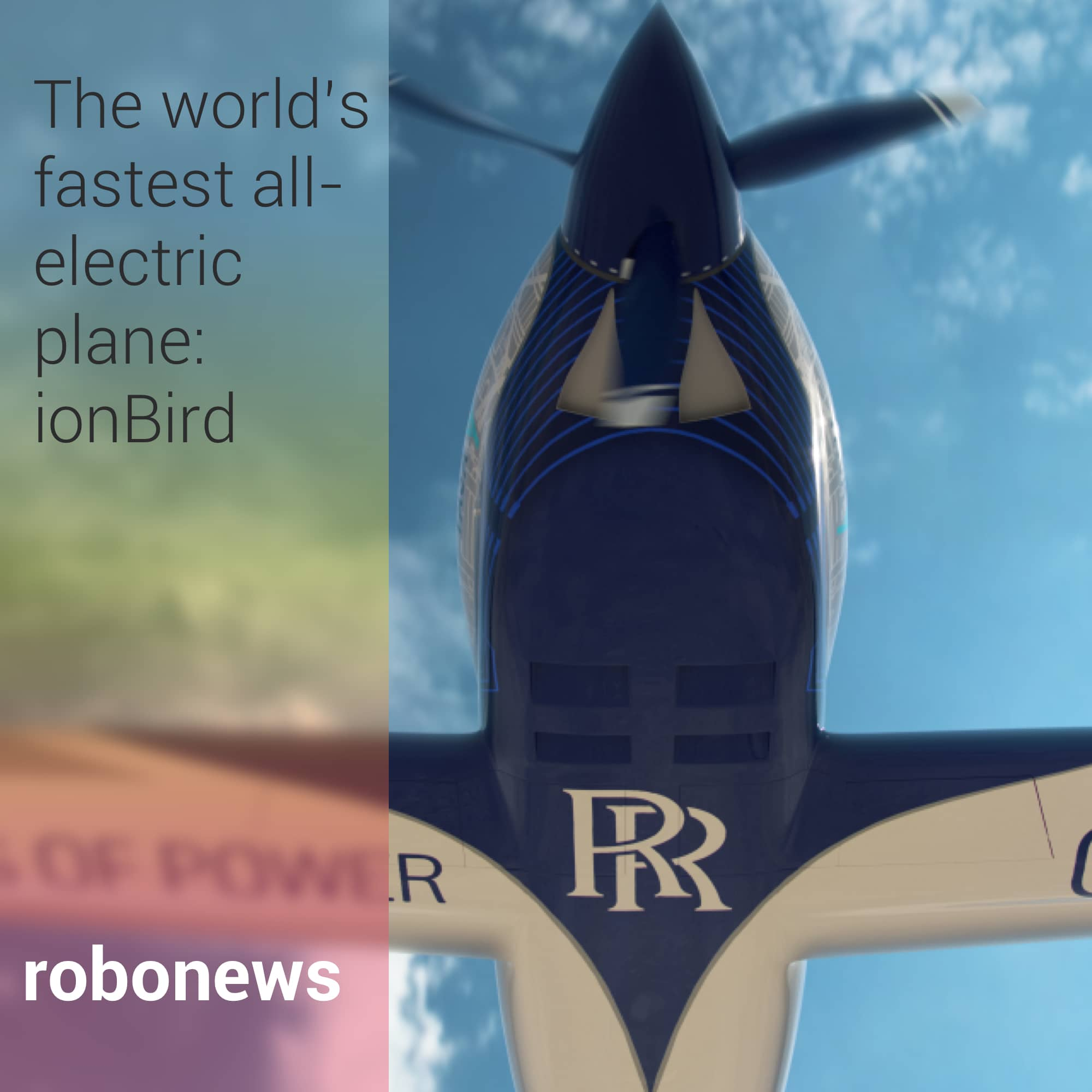Rolls Royce'un ionBird Uçağı