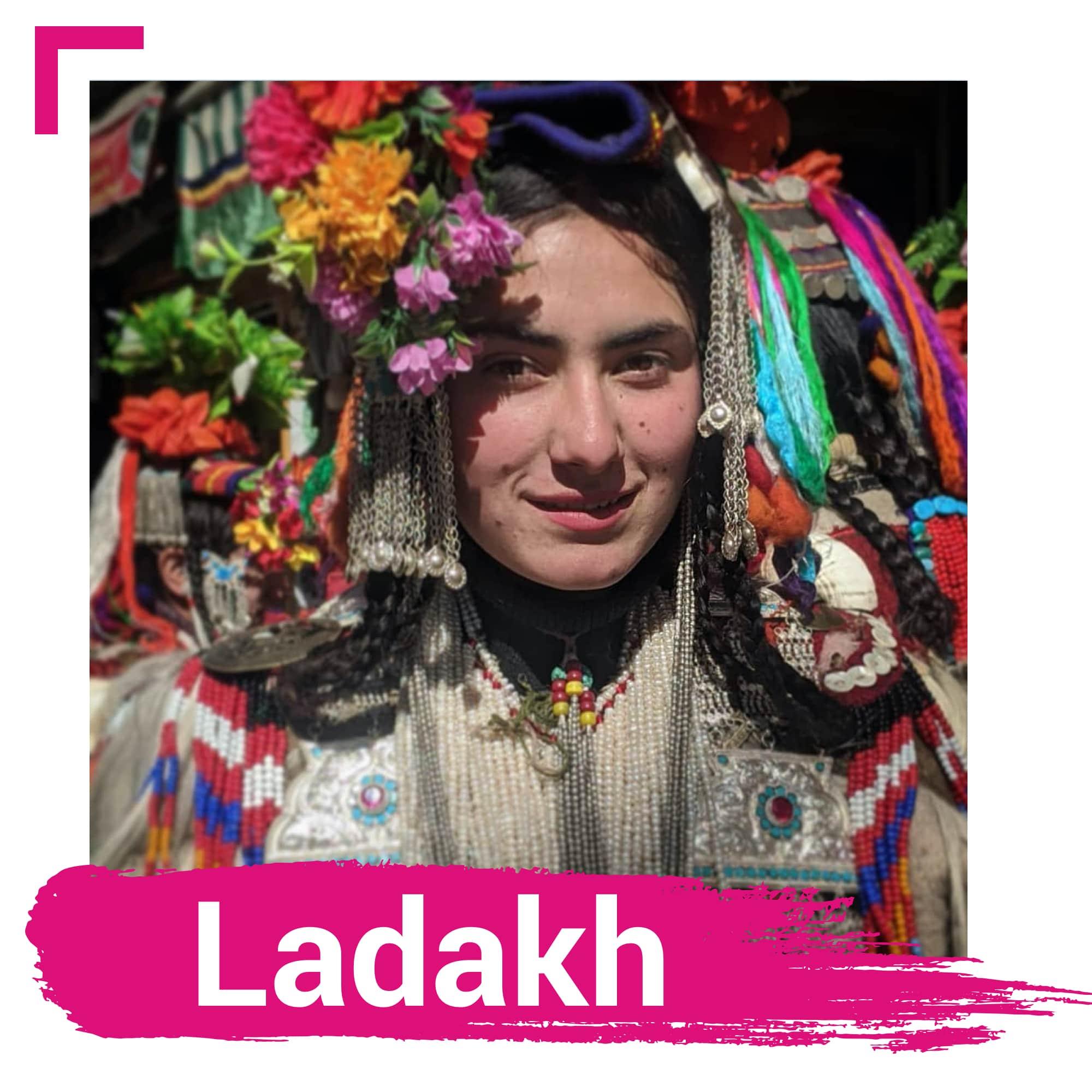 Hindistan'daki Ladakh
