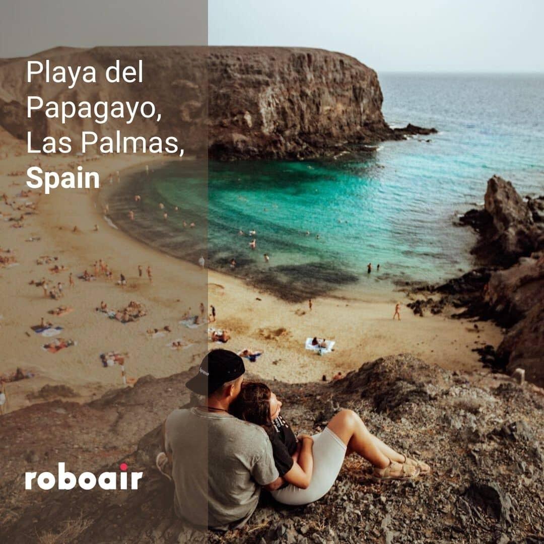Playa Del Papagayo, Las Palmas
