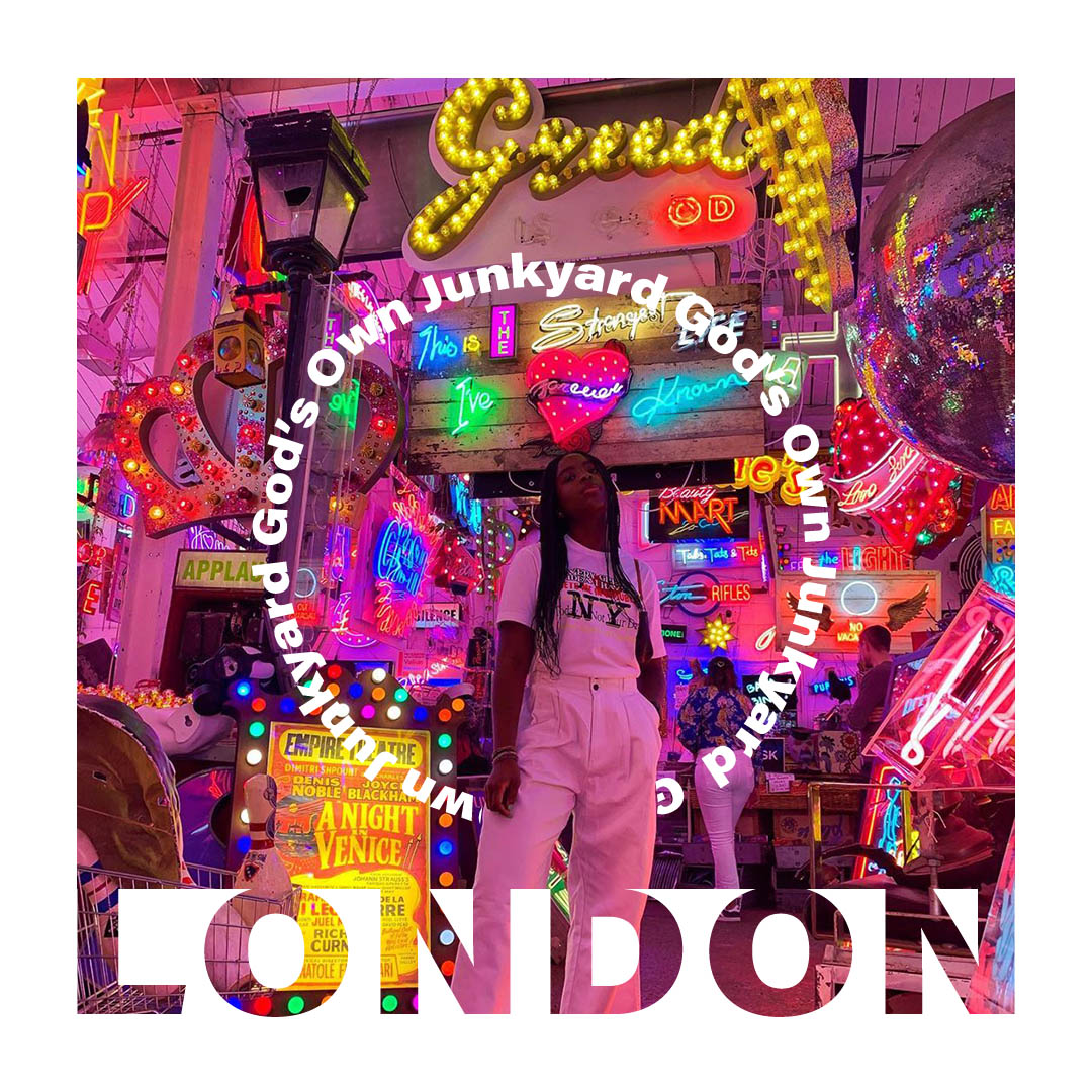 Londra'daki God's Own Junkyard