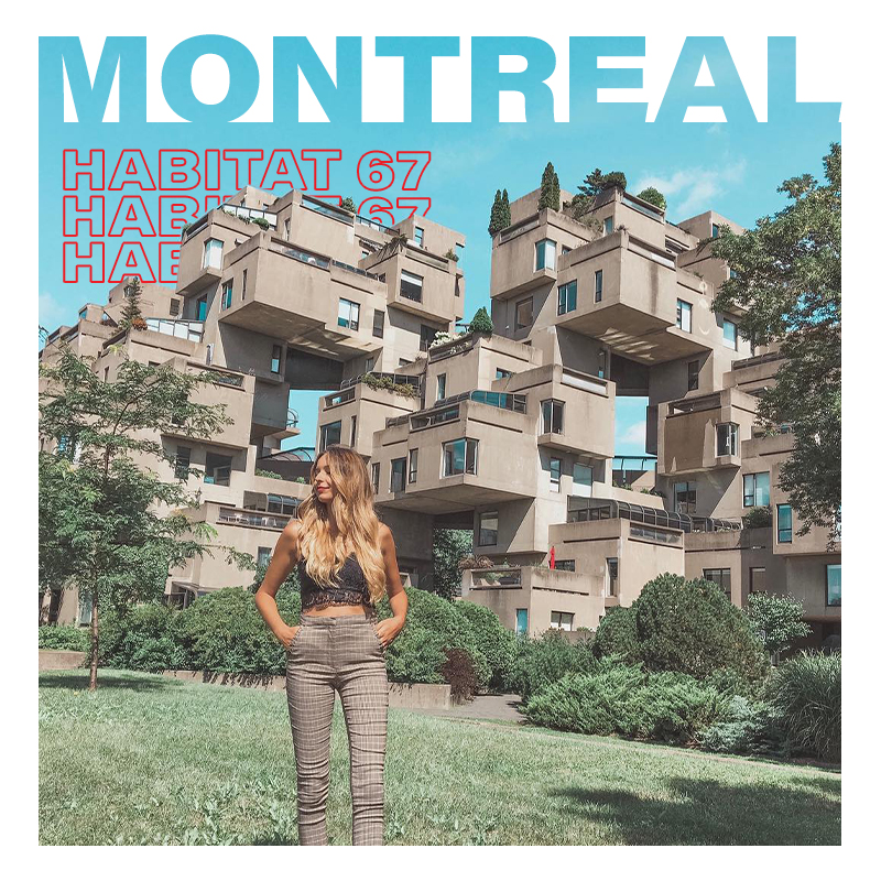 Montreal'daki Habitat 67