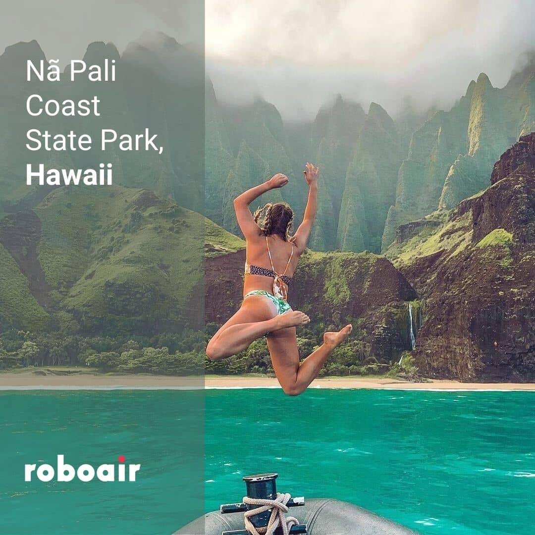 Na Pali Coast State Park, Hawaii