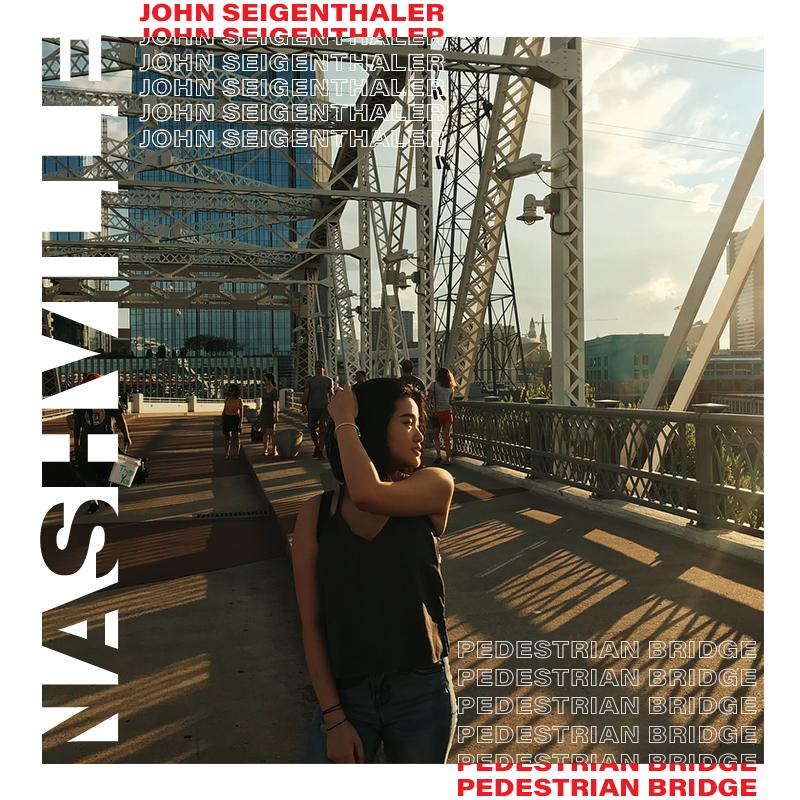Nashville'deki John Seigenthaler Yaya Köprüsü