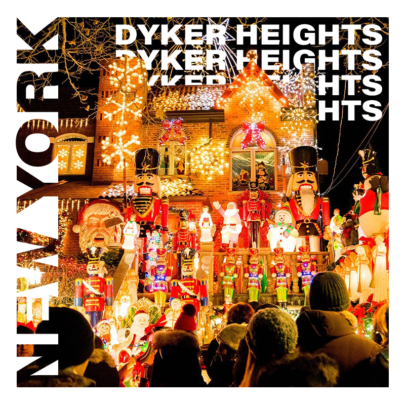 Dyker Heights in New York