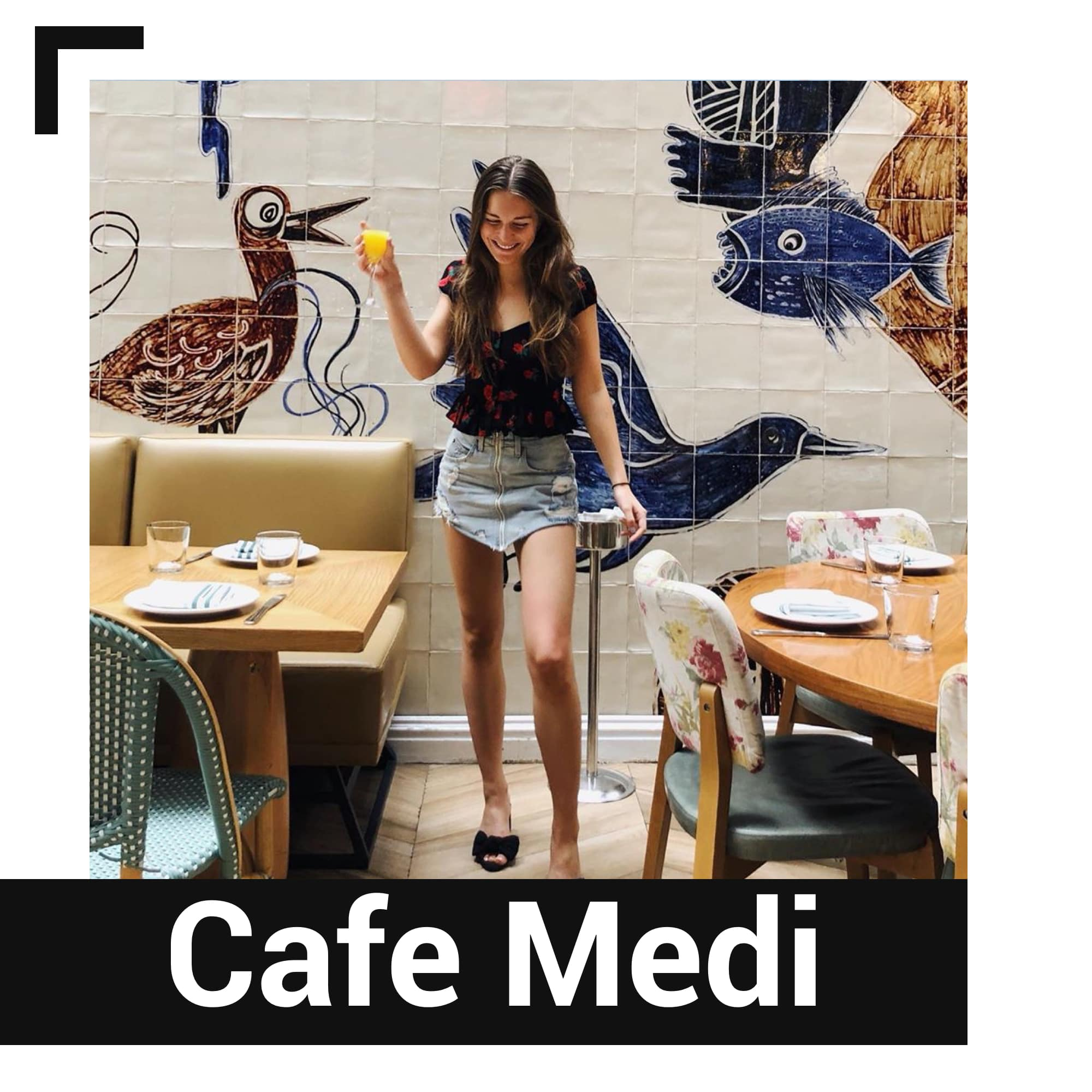 New York'taki Cafe Medi