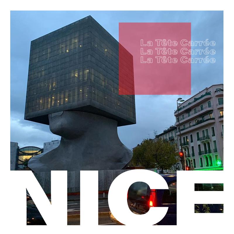 Nice'teki La Tete Carree
