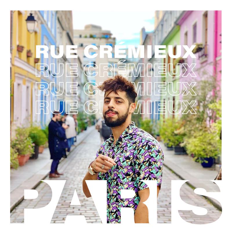 Rue Crémieux in Paris