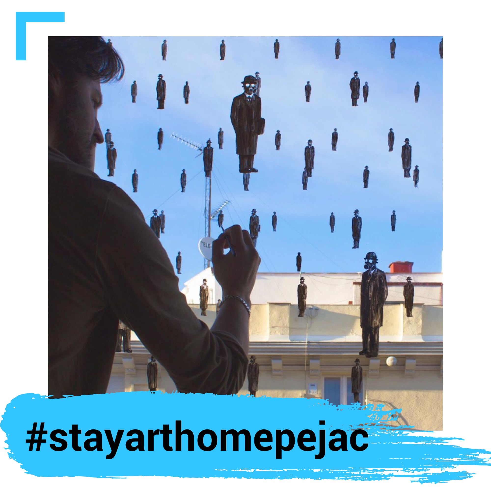 Stay Art Home Pejac