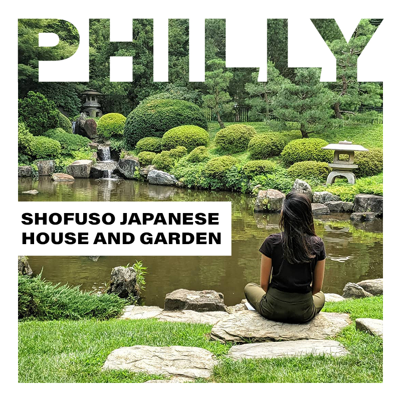 Shofuso Japanese House and Garden in Philadelphia