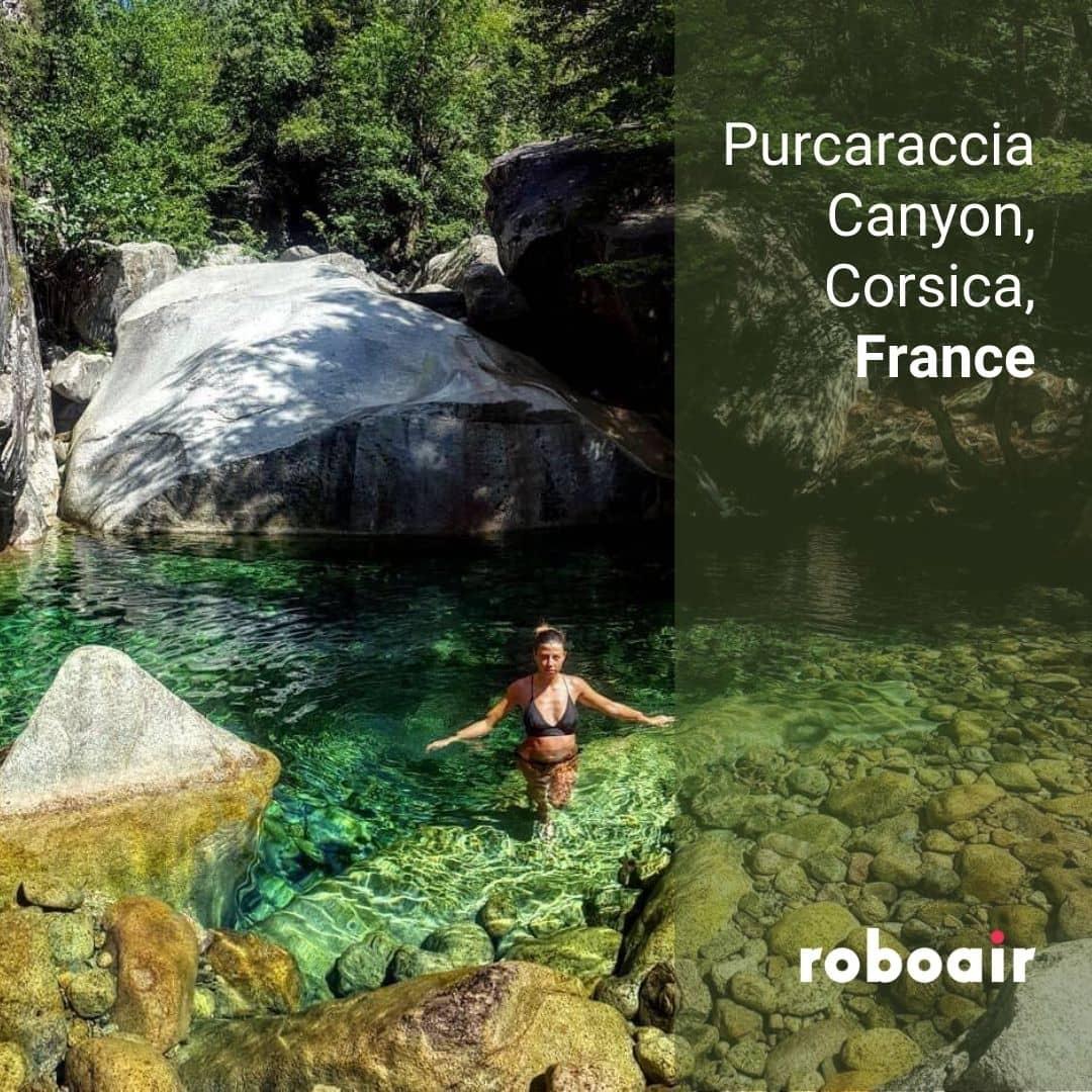 Purcaraccia Canyon, Corsica