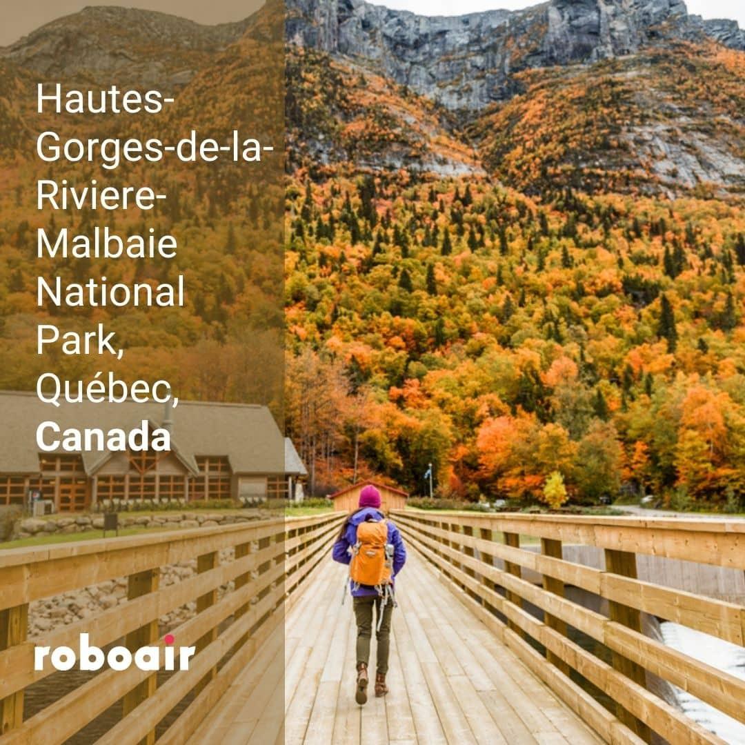 Hautes Gorges de la Riviere Malbaie National Park, Quebec