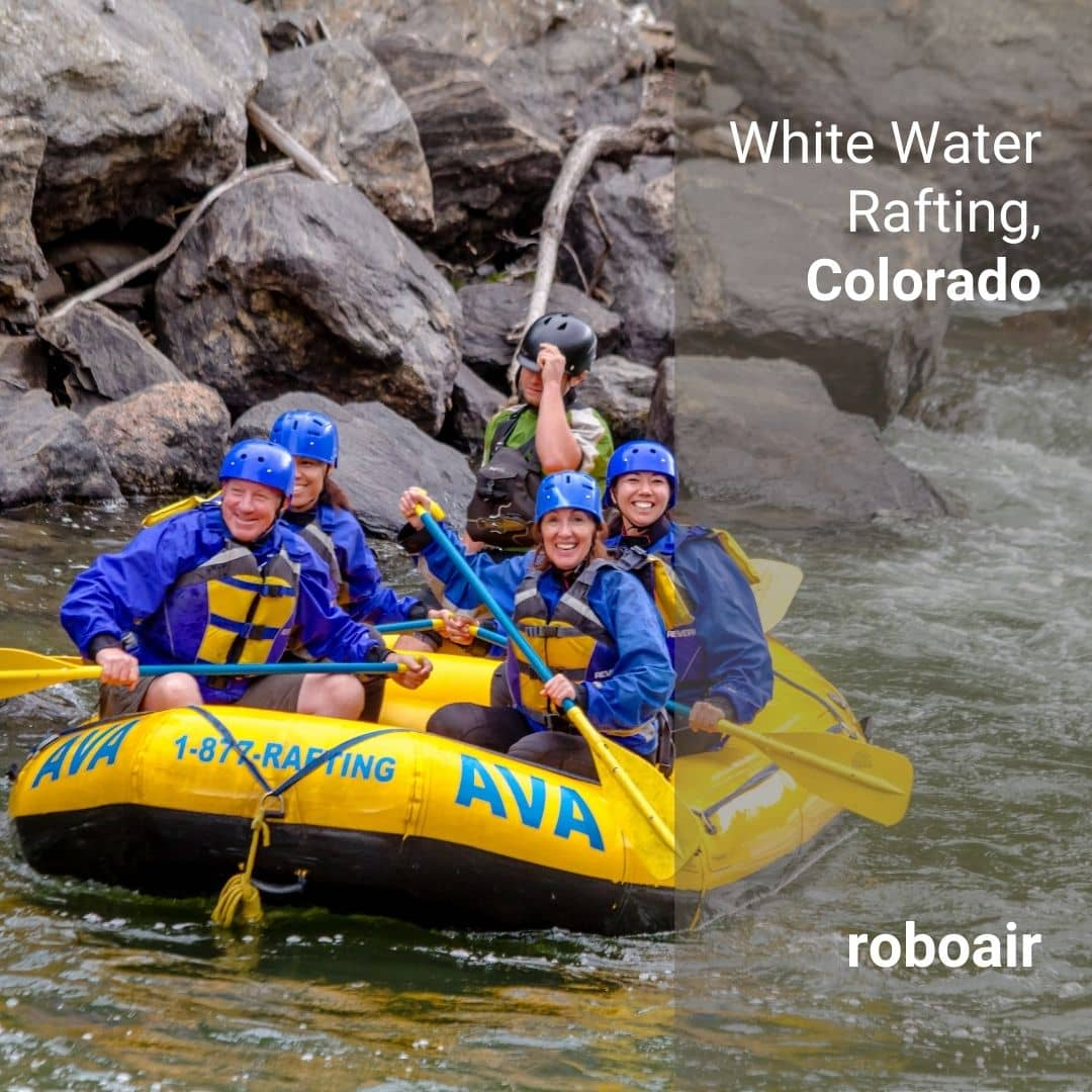 White Water Rafting, Colorado