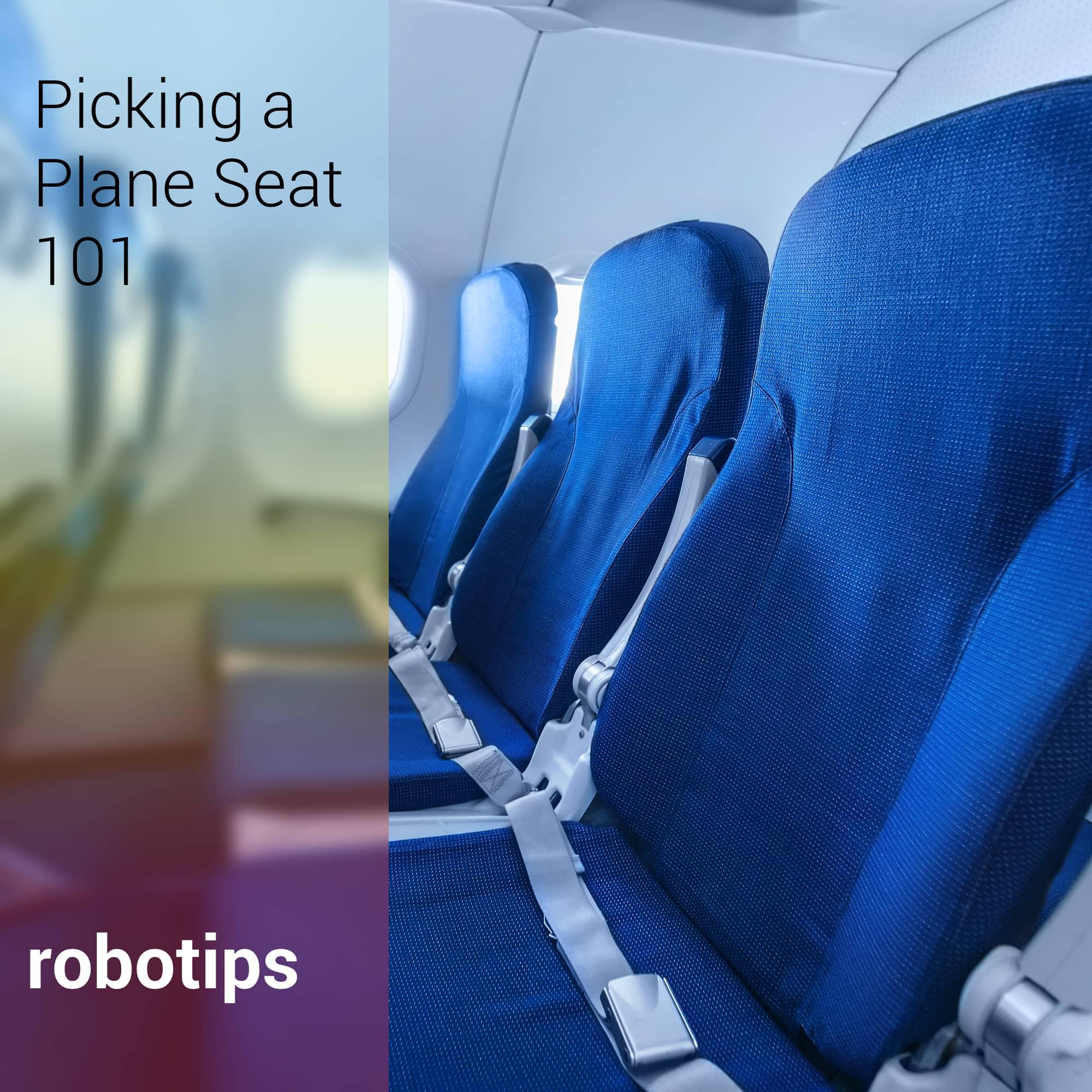 Plane Seats 101