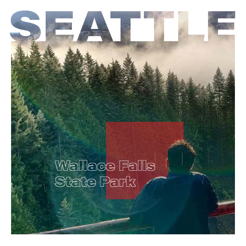 Wallace Falls State Park in Seattle