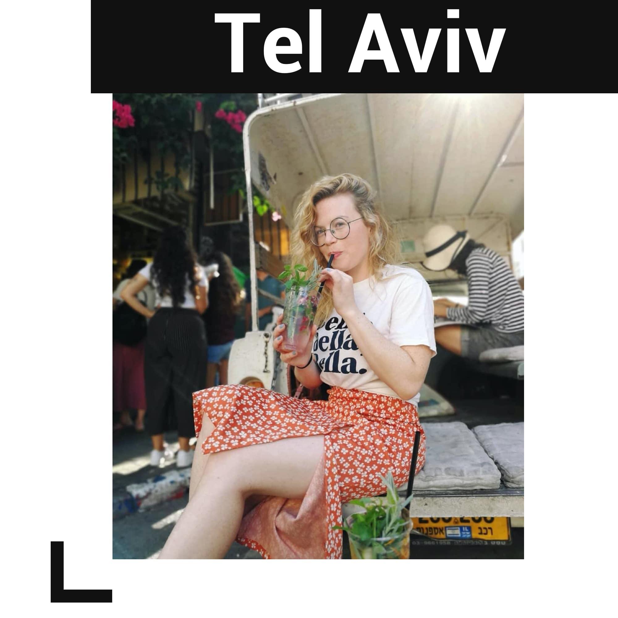 Tel Aviv'deki Caffe Levinsky 41