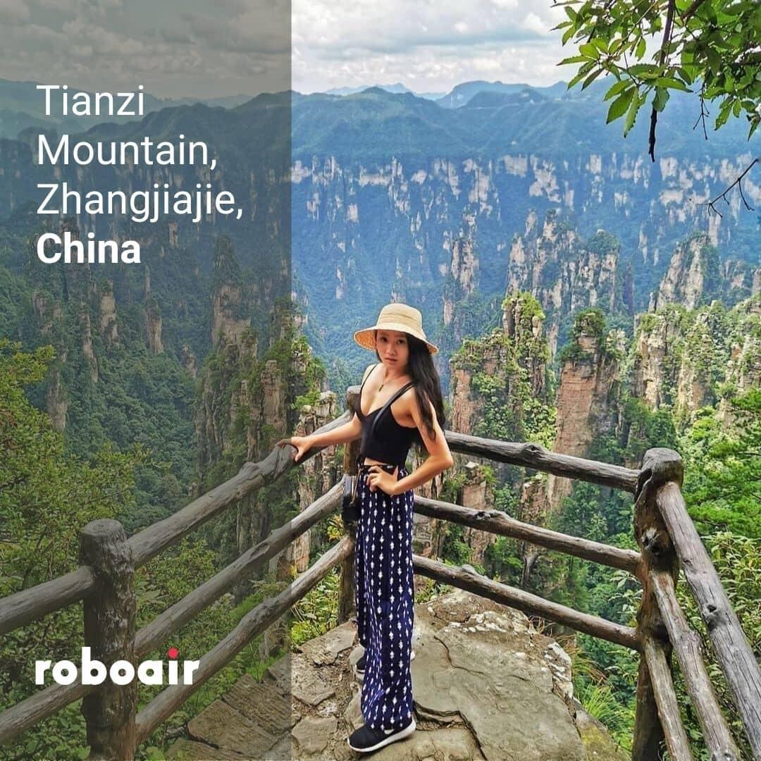 Tianzi Mountain, China