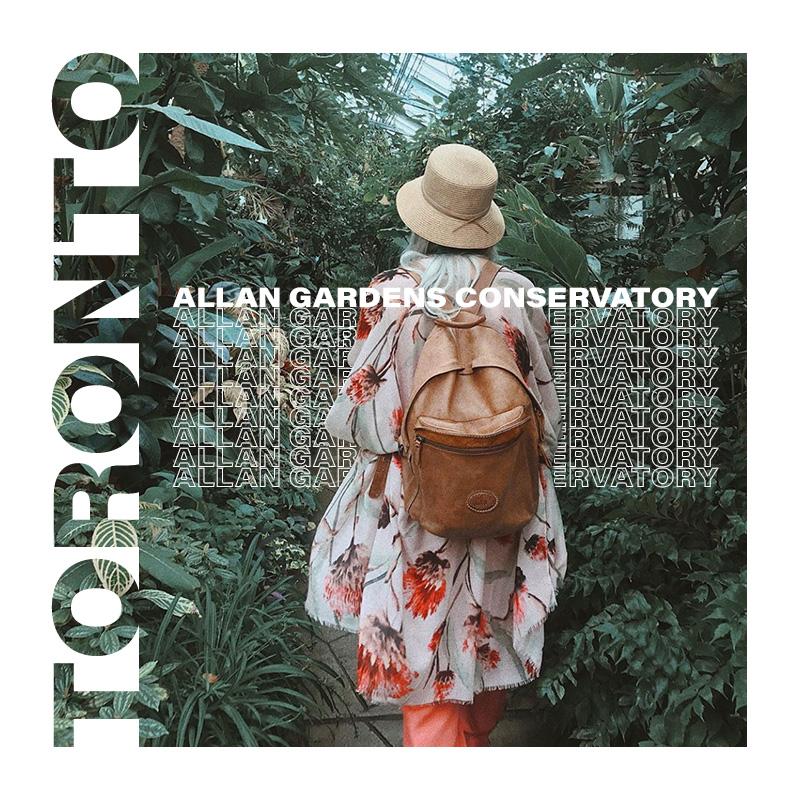 Toronto'daki Allan Gardens Serası