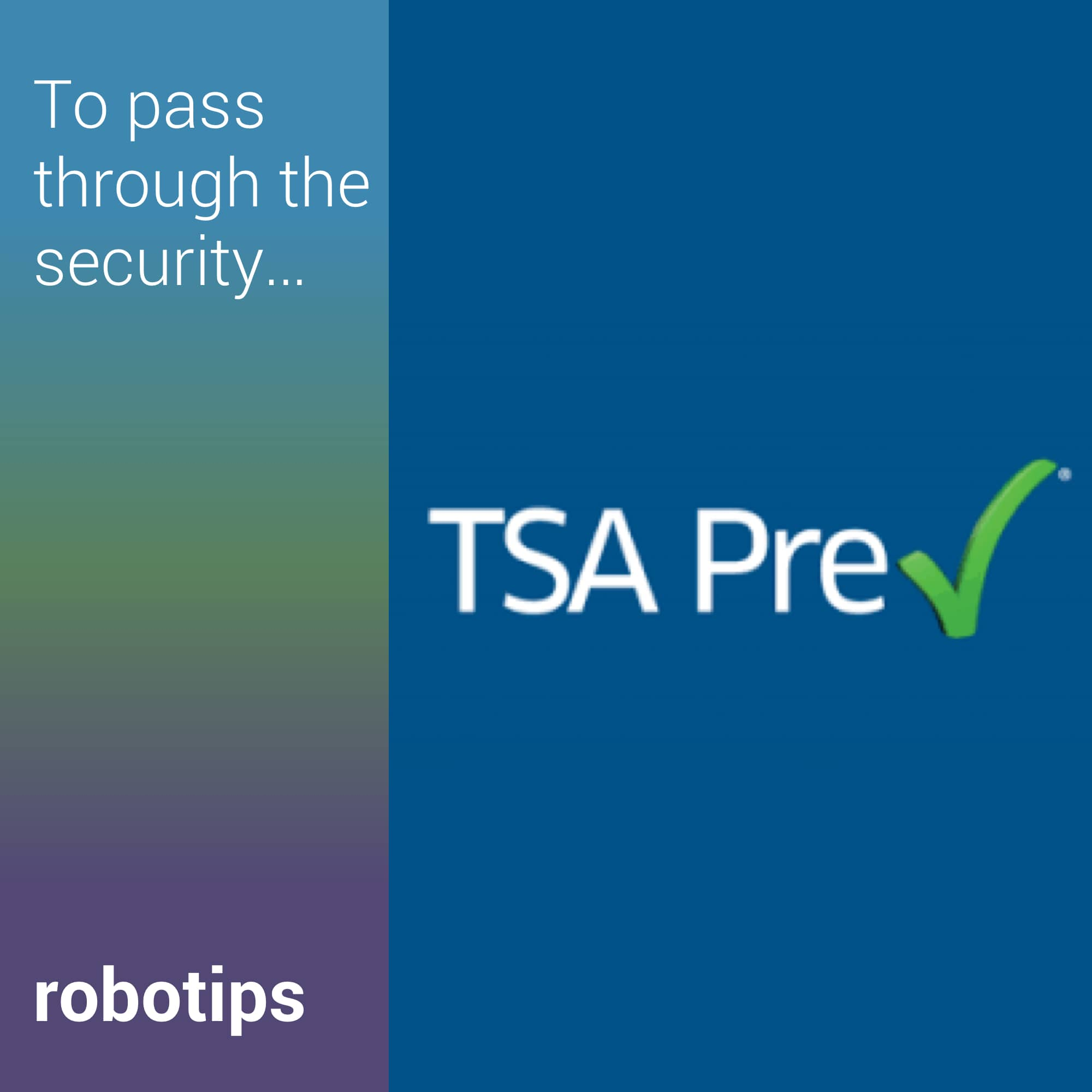CLEAR and TSA PreCheck