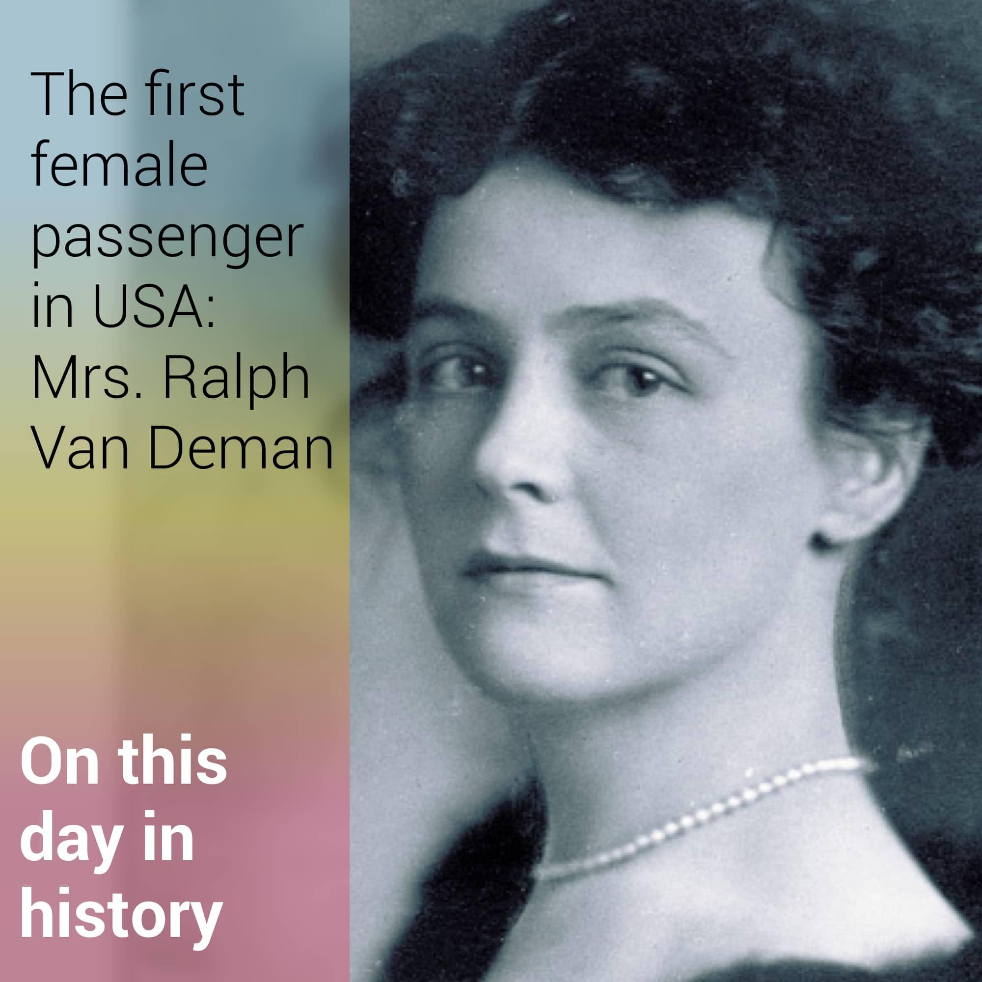 Mrs. Ralph Van Deman