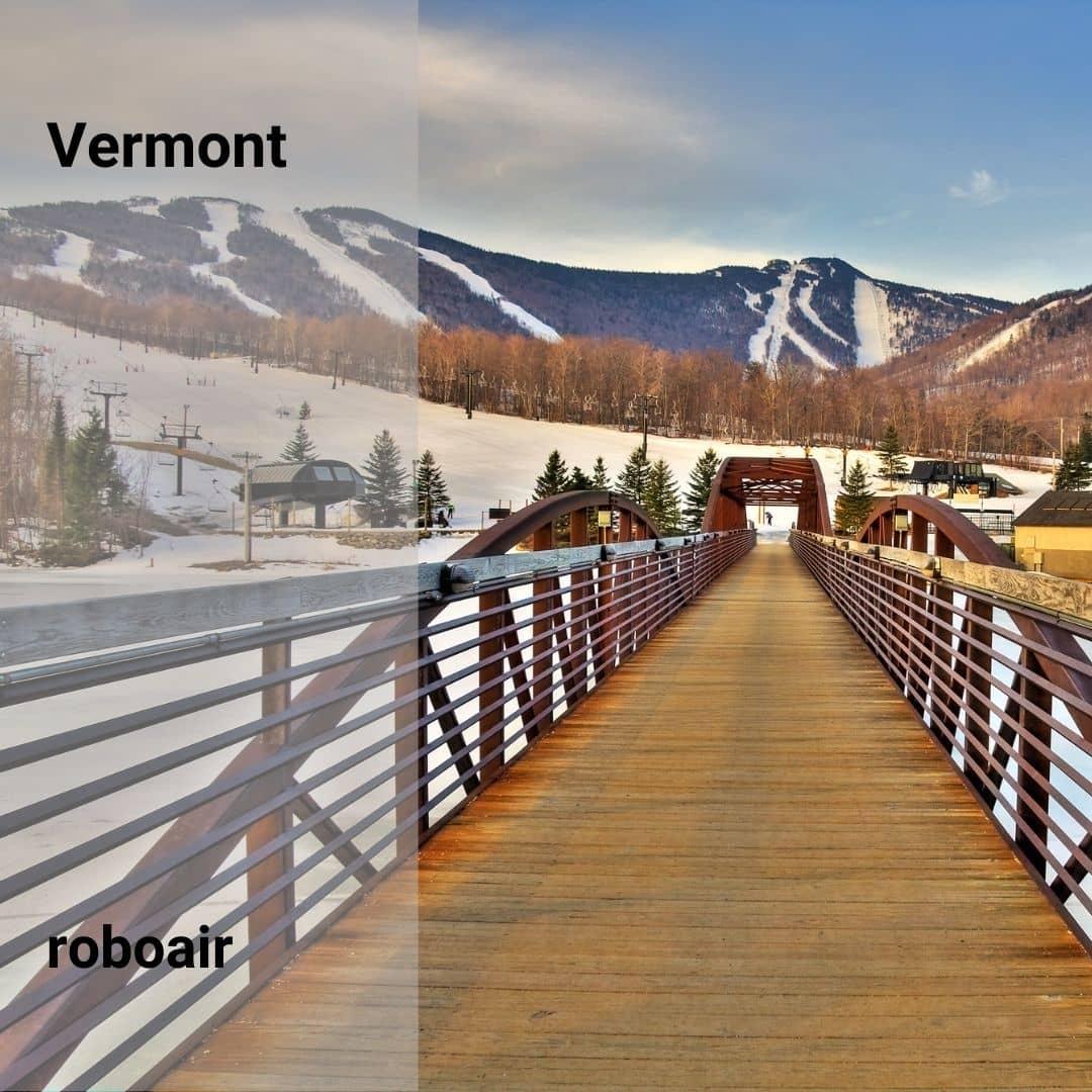 Vermont'ta Kayak