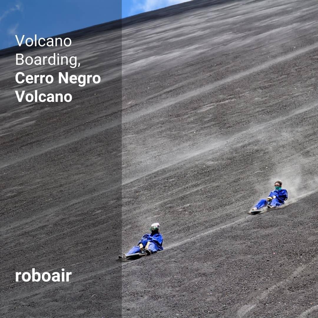 Volcano Boarding, Cerro Negro Volcano