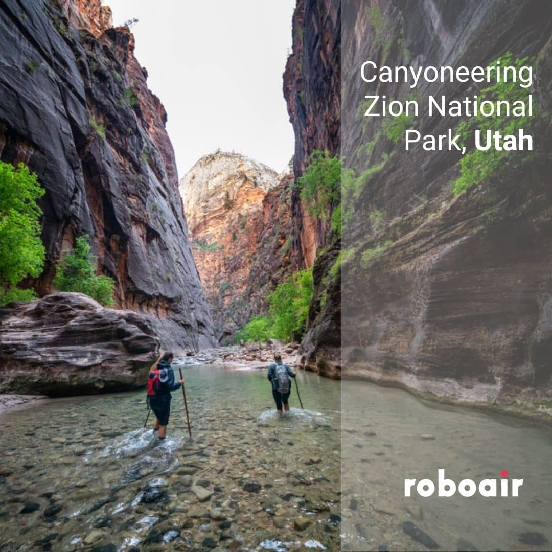 Canyoneering, Zion National Park